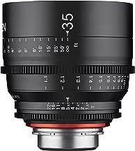 Rokinon Xeen XN35-C 35mm T1.5 Professional Cine Lens for Canon EF (Black)