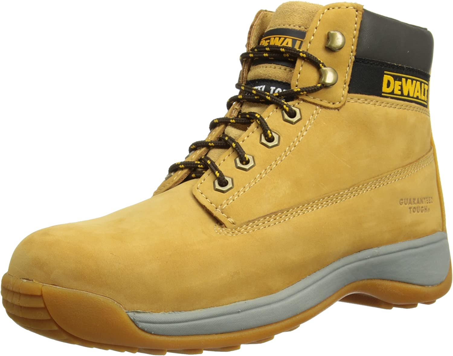 DeWalt Apprentice , Men's Safety Boots , Honey Nubuck , 4 UK (38 EU)