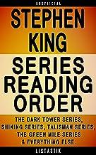 Stephen King Series Reading Order: Series List - In Order: The Dark Tower series, Shining series, Talisman series, The Gre...