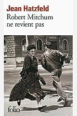 Robert Mitchum ne revient pas (French Edition) Kindle Edition