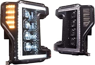 Morimoto XB LED Plug & Play Headlight Assembly Set Compatible with 2017-2019 Ford Super Duty (I Have Factory Halogen Lights)
