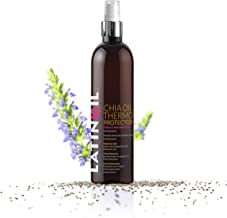 LATINOIL Chia Oil Heat Protectant Spray For Hair - Hair Thermal Protection Shield From Heat - Leave In Conditioner - Anti Frizz Moisturizer (8 Oz)