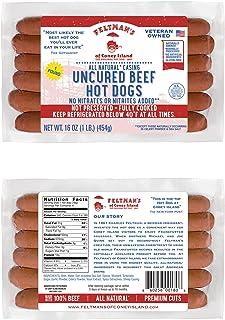 Feltman's Original Hot Dogs, 3 Pack (18 hot dogs)