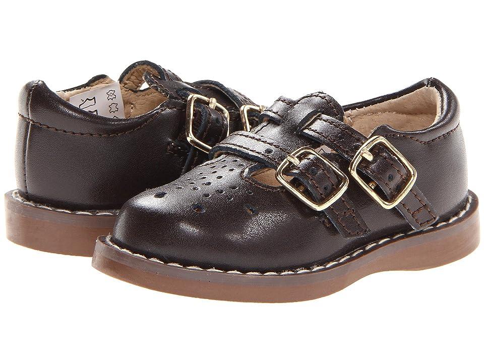 FootMates Danielle 3 (Infant/Toddler/Little Kid) (Brown) Girls Shoes