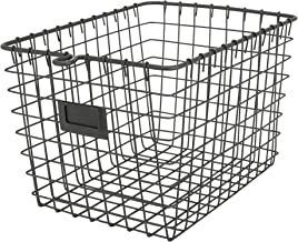 Spectrum Diversified Wire Storage Basket, Small, Industrial Gray
