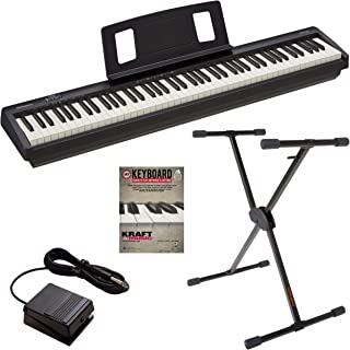 Roland FP-10 Digital Piano with Roland KS10X Keyboard Stand and Lesson Book