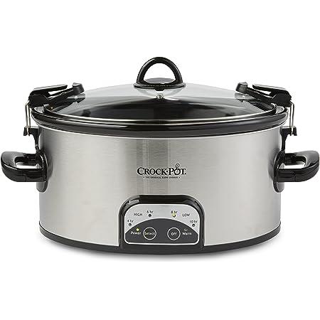 Crock-Pot SCCPVL605-S, 6 Qt, Stainless