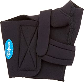 Comfort Cool Thumb CMC Restriction Splint, Provides Direct Support for The Thumb CMC Joint While Allowing Full Finger Function, Left Hand, Large Plus