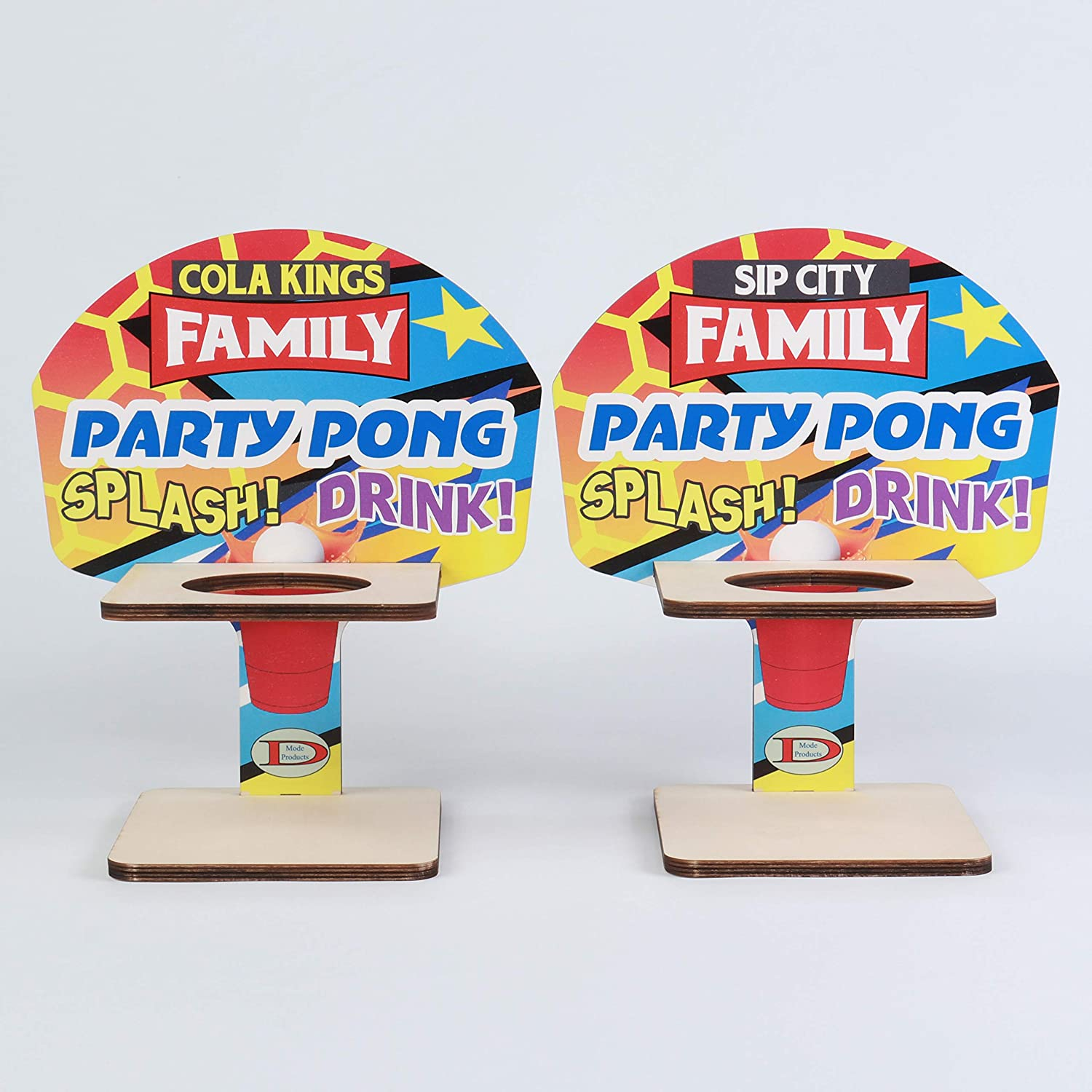 DMode Products Wooden Party Max 52% OFF Game Set Max 58% OFF Pong for