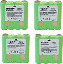 HQRP 4-Pack Battery Compatible with Cobra FA-BP FABP FRS100 FRS104 FRS105 FRS110 FRS115 PR4500W PR4500 FRS130 FRS132 FRS220 FRS235 FRS250 FRS300 FRS80 FRS85 PR1050-WX PR135 PR945 Two-Way Radio