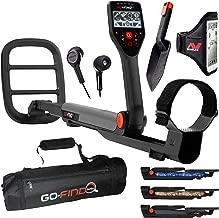 Minelab GO-FIND 66 Metal Detector with GO-FIND Black Carry Bag for Transport