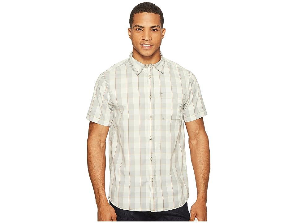 The North Face Short Sleeve Voyager Shirt (High-Rise Grey Plaid (Prior Season)) Men