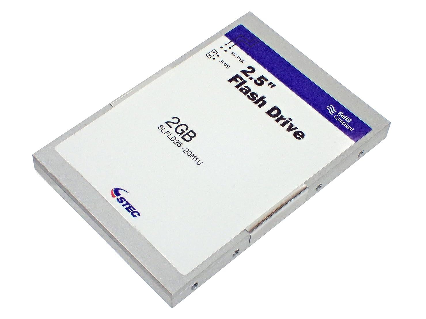 貝殻レンドバンガローSTEC 産業用 Solid-State IDE Flash Drive (SSD) 2.5インチ 2GB SLFLD25-2GM1U