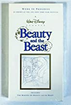 Beauty and the Beast: A Work In Progress VHS