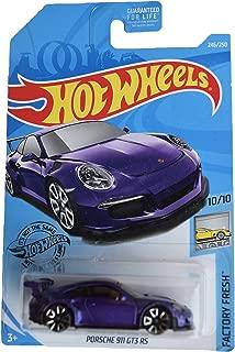 Hot Wheels Factory Fresh 10/10 Porsche 911 GT3 RS 246/250, Purple