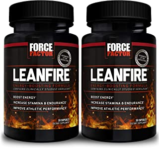 Force Factor Leanfire 30ct 2-Pack, 60 Count