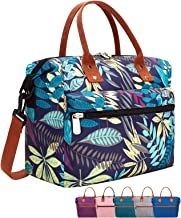 Leakproof Insulated Lunch Tote Bag with Adjustable & Removable Shoulder Strap, Durable Reusable Lunch Box Container for Wo...