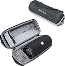 Vanerdun JBL Flip 5 Speaker Carrying Case - EVA Hard Travel Storage Bag for JBL Flip 5 Waterproof Portable Wireless Bluetooth Speaker (Black)