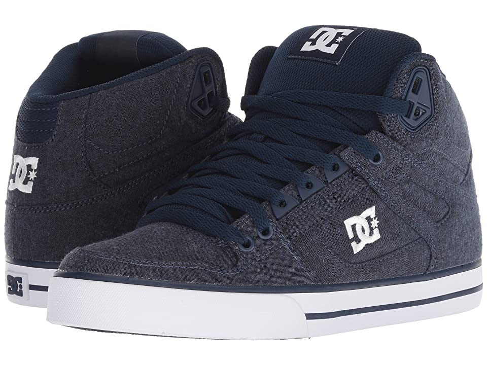 DC Pure High-Top WC TX SE (Navy) Men