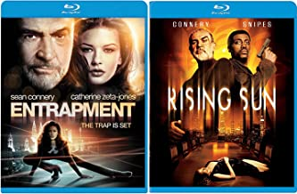 Rising Sun + Entrapment Blu Ray Action Sean Connery movie Set Combo Edition