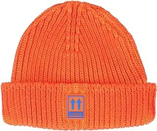 OFF-WHITE Luxury Fashion Mens OMLC001F190200031900 Orange Hat | Fall Winter 19