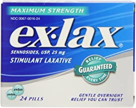 Ex-Lax Stimulant Laxative, 24ct