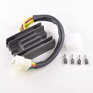 Voltage Regulator Rectifier Fits Suzuki LT 160 Quad Runner LTF 250 Quadrunner 300 KingQuad LT-F4 King Quad 1987-2004 | OEM Repl.# 32800-19B00 / 32800-19B10 / 32800-19B11