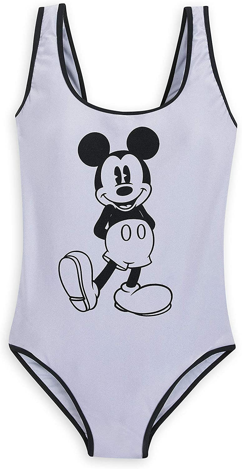 Disney Mickey Mouse Max 80% OFF Swimsuit for Women Metallic Mail order cheap