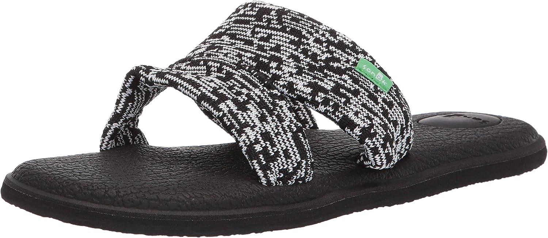 Sanuk Womens Yoga Mat Capri Knit Sandal