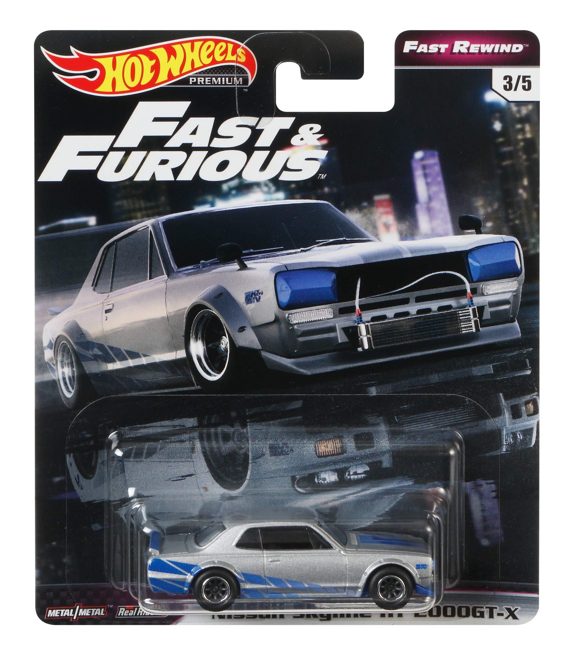 Hot Wheels Fast & Furious Prem Bundle 2 Vehicle