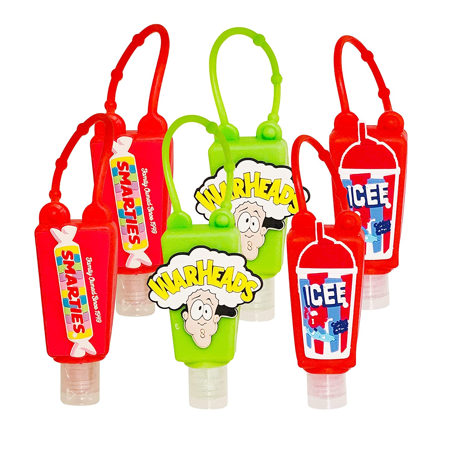 ICEE SMARTIES online shopping WARHEADS Variety Pack of Sanitizer 6 35% OFF Hand