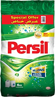 Persil Detergent Powder, Top and Front Loading - 6 kg, Pack of 1