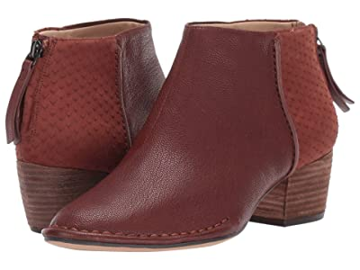 Clarks Spiced Ruby (Tan Combi Leather) Women