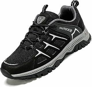 أحذية مشي Vooncosir للرجال والنساء غير قابلة للانزلاق بشبكة مسامية لممارسة الرياضة والمشي في الهواء الطلق ورحلات رياضية