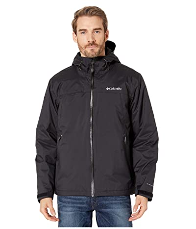 Columbia Top Pinetm Insulated Rain Jacket (Black/Graphite 1) Men