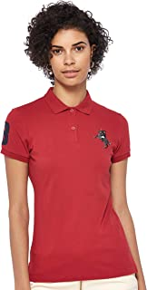 Giordano womens 05319210 Women's 3D Napoleon polo