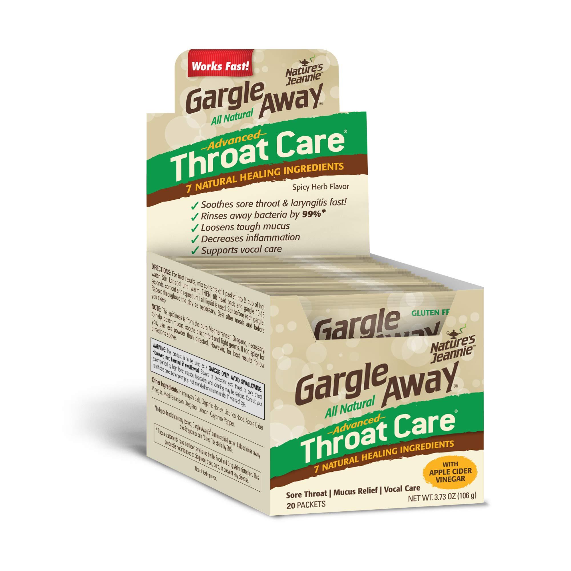 Gargle Away Advanced Laryngitis Congestion
