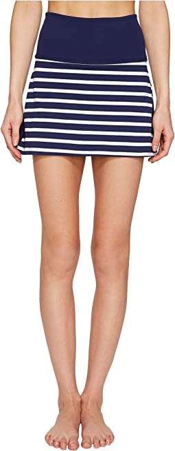 Kate Spade New York x Beyond Yoga - Sailing Stripe High Waist Skort