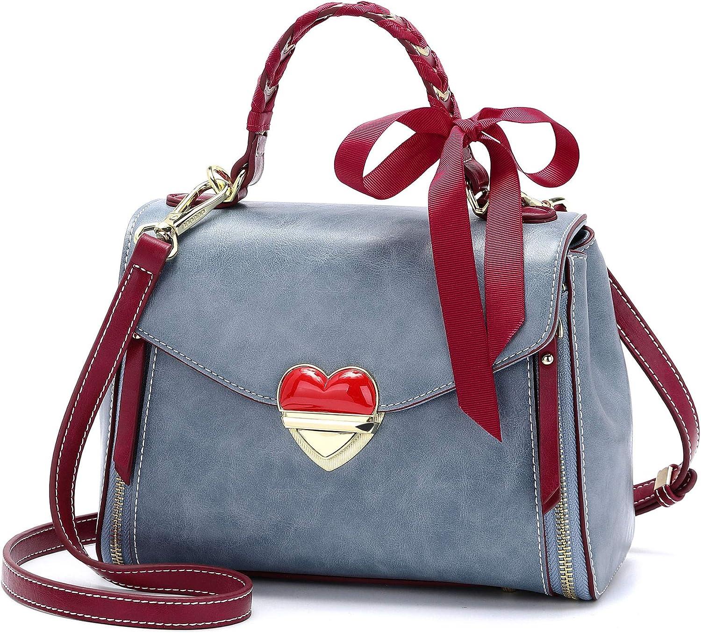 DEERWORD Women Totes Handbags Shoulder Bags PU Leather Hobo Crossbody Bags Wallets Purses