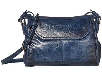 Frye Mel Crossbody (Navy) Cross Body Handbags