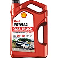 Deals on 2PK Shell Rotella Gas Truck 5W-20 Full Synthetic Motor Oil 5QT