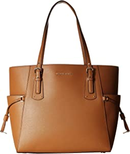 58c53dfafb Michael michael kors voyager medium top zip tote