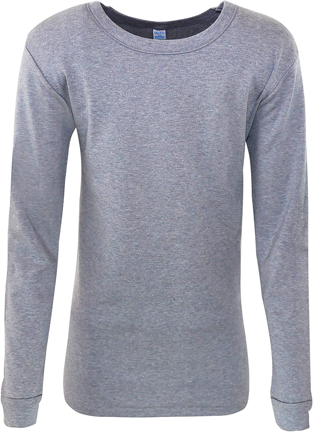 MaRe Premium Quality 100% Brushed Cotton/Fleece Men's Long Sleeved T-Shirt. Proudly Made in Italy.