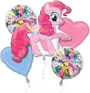 Amscan International 3484401 Pinkie Pie Foil Balloon Group Bouquet