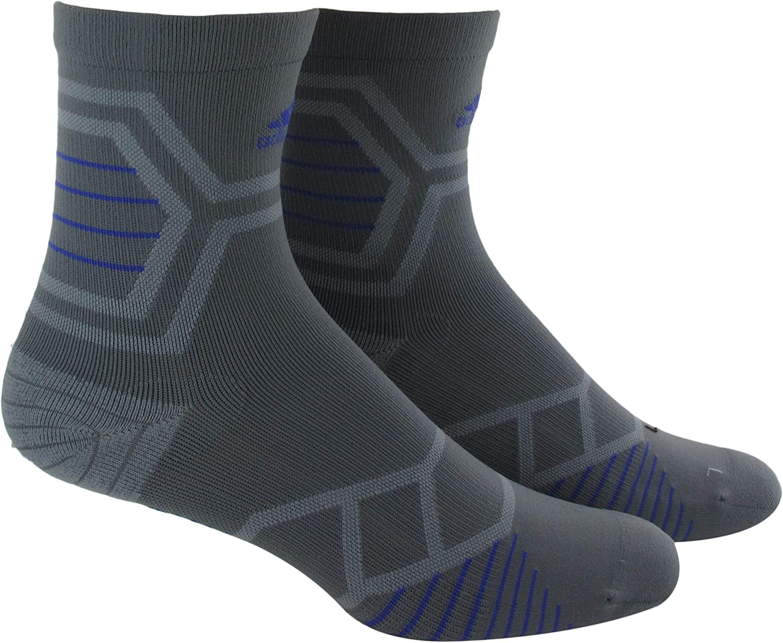 Adidas Socks Unisex Energy Running Single Mid-Crew Socks