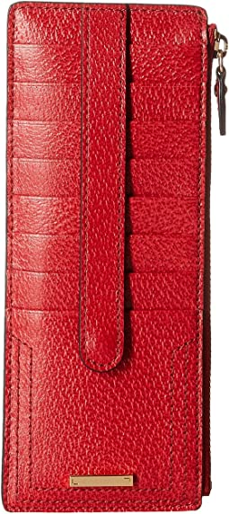 Lodis Accessories - Stephanie RFID Credit Card Case w/ Zipper Pocket