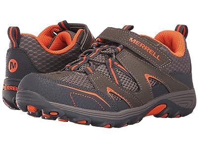 Merrell Kids Trail Chaser (Big Kid) (Gunsmoke/Orange) Boys Shoes