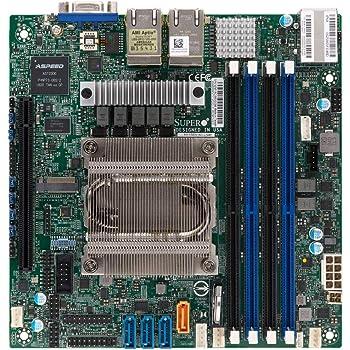 Supermicro M11SDV-8C-LN4F AMD EPYC 3251 8-Core Embedded Mini ITX Motherboard with Quad GbE LAN, Ipmi (MBD-M11SDV-8C-LN4F)