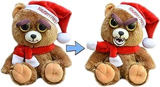 Feisty Pet Santa Bear: Ebeneezer Claws Stuffed Attitude Plush Animal (Extinct – No Longer Produced)