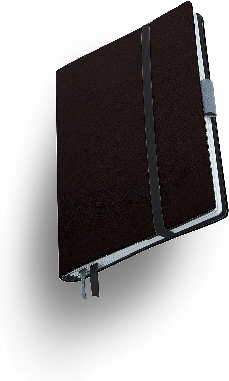 Weißbook SLIM S201-MX, modulares modulares modulares Notizbuch, Veaux Prestige, geschnitten, schwarz, 120 S. Papier FSC B00V85BB6I   | Qualität Produkt  300dac